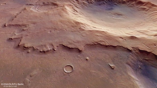 Cráter en Martee