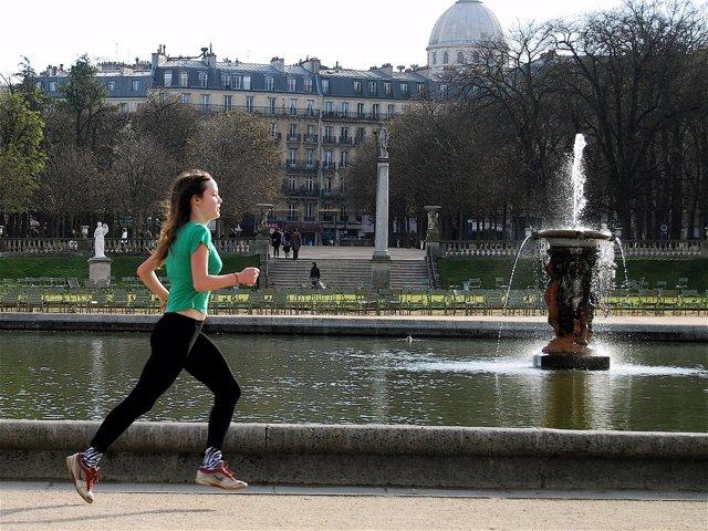 Ejercicio, correr, actividad