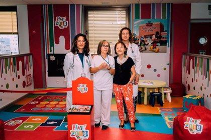 Lilly y el Hospital Ramón y Cajal de Madrid crean una zona de juego educativa para los menores con diabetes