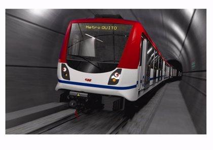 España concede un crédito de 183 millones de dólares para el metro de Quito