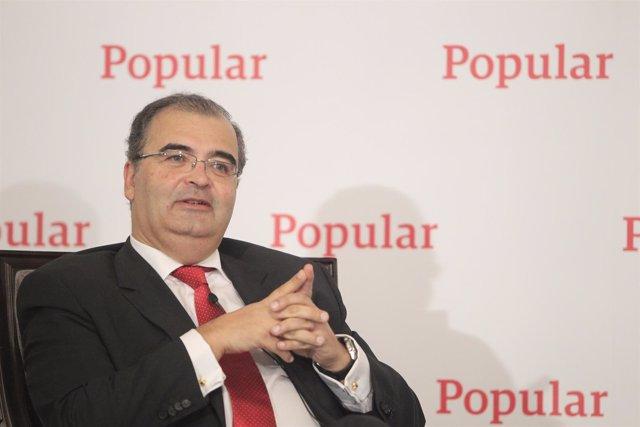 Ángel Ron en los Desayunos de Europa Press