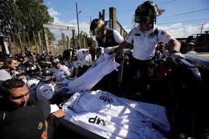 Una modelo argentina muere en el motín de la cárcel en Guatemala