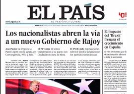 Las portadas de los periódicos de hoy, miércoles 20 de julio de 2016