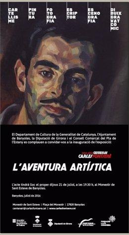 Exposición en homenaje a Carles Fontserè en Banyoles