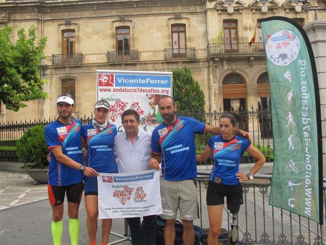 Recepción de la Diputación a 'Andalucía, 7 desafíos'