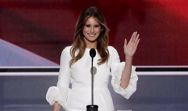 Melania Trump interviene en la Convención Republicana