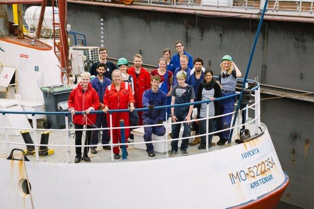 Juggend Rettet, iniciativa de jóvenes para rescatar en el Mediterráneo