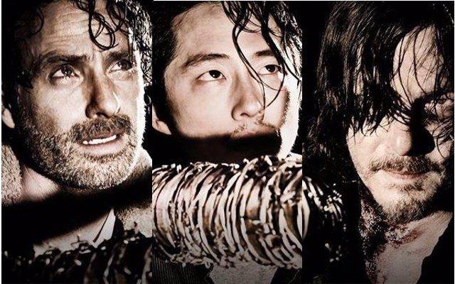 Rick, Glenn y Daryl 7ª temporada The Walking Dead