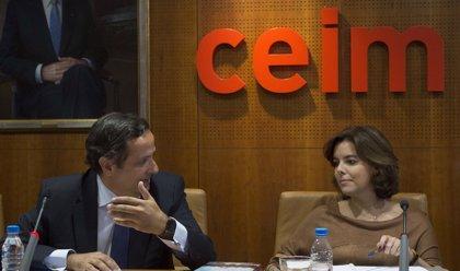 CEIM traslada a Santamaría su desacuerdo con el aumento de los ingresos del Impuesto de Sociedades