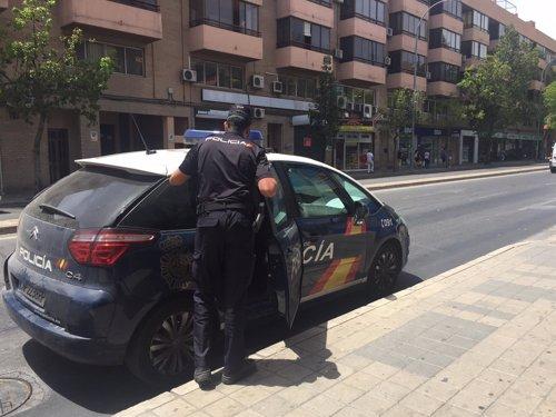 Una patrulla en Alicante