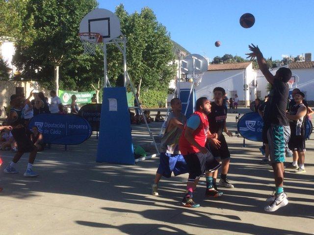 Circuito provincial de Baloncesto 3x3 en Cádiz