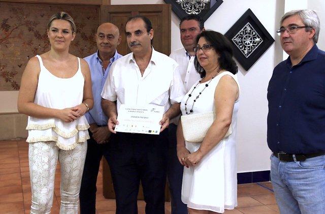 Entrega de premios del sorteo por apellidos dentro de 'Úbeda y Baeza 10'