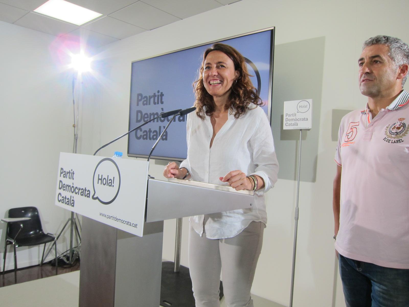 Conseller de Cultura Santi Vila,  subdtora.Política Lingüística Marta Xirinachsc
