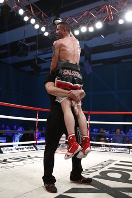 El boxeador español Rubén Nieto
