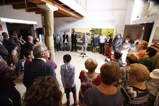 Inauguración del centro de interpretación.