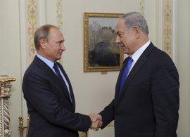 Putin y Netanyahu abordan la cooperación ruso-israelí en la lucha antiterrorista