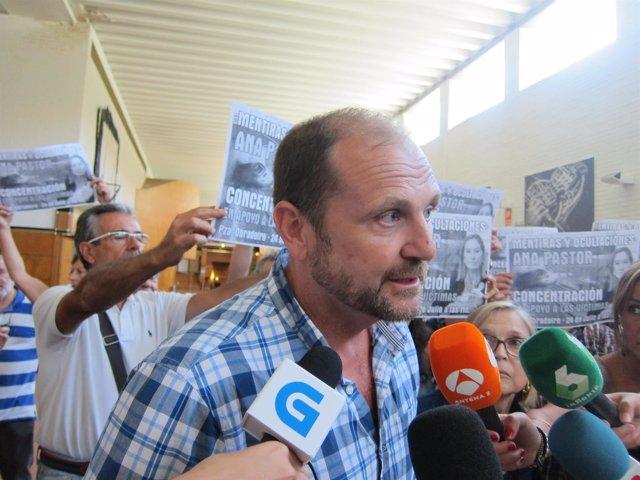 El portavoz de la  la Plataforma Víctimas Alvia 04155, Arturo Domínguez