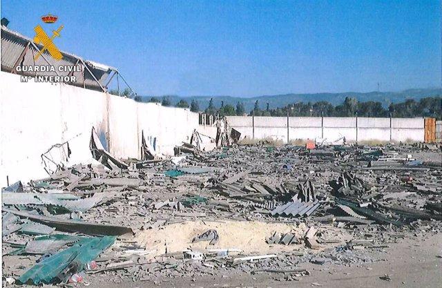 Naves desmanteladas en Córdoba