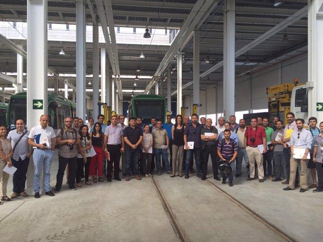 Visita de empresas al metro de Granada