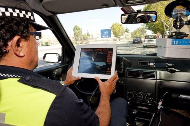 Control rádar Policía Local