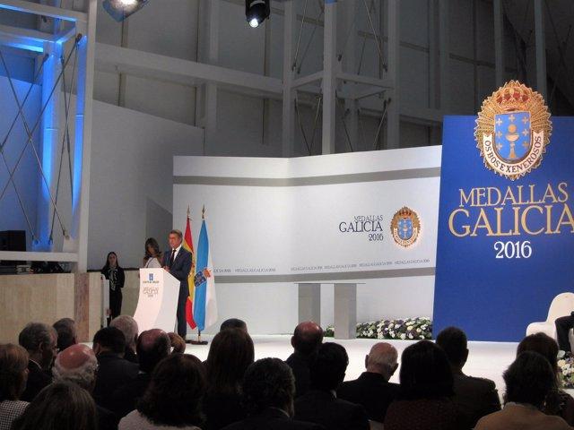 Entrega de las Medallas de Galicia 2016
