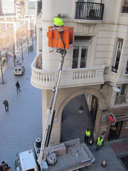 Zaragoza actualiza el procedimiento de Prevención de Riegos Laborales para trabajos en altura