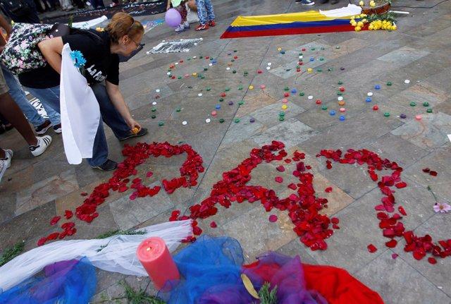 Celebraciones en Colombia por la paz con las FARC