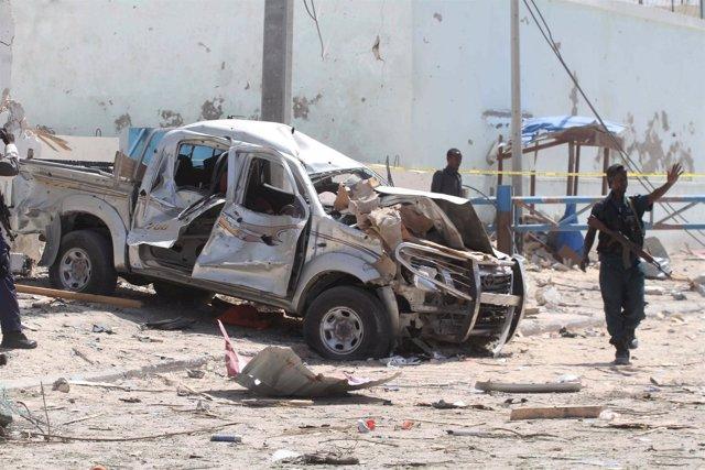 Atentado contra la base de la AMISOM en Mogadiscio