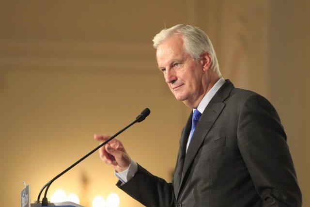 Comisario europeo de Mercado Interior, Michel Barnier