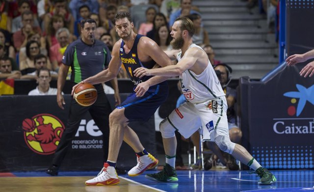 Selección española de baloncesto, Pau Gasol