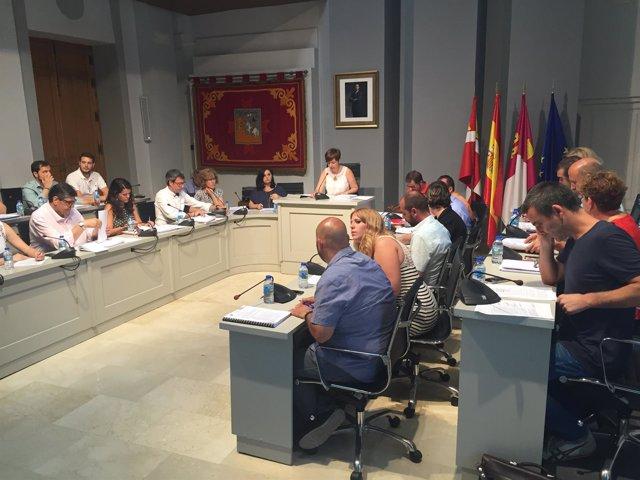 Nota De Prensa Y Fotos Pleno Ordinario Mes De Julio
