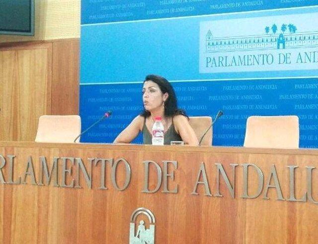La diputada de C's Andalucía, Marta Bosquet