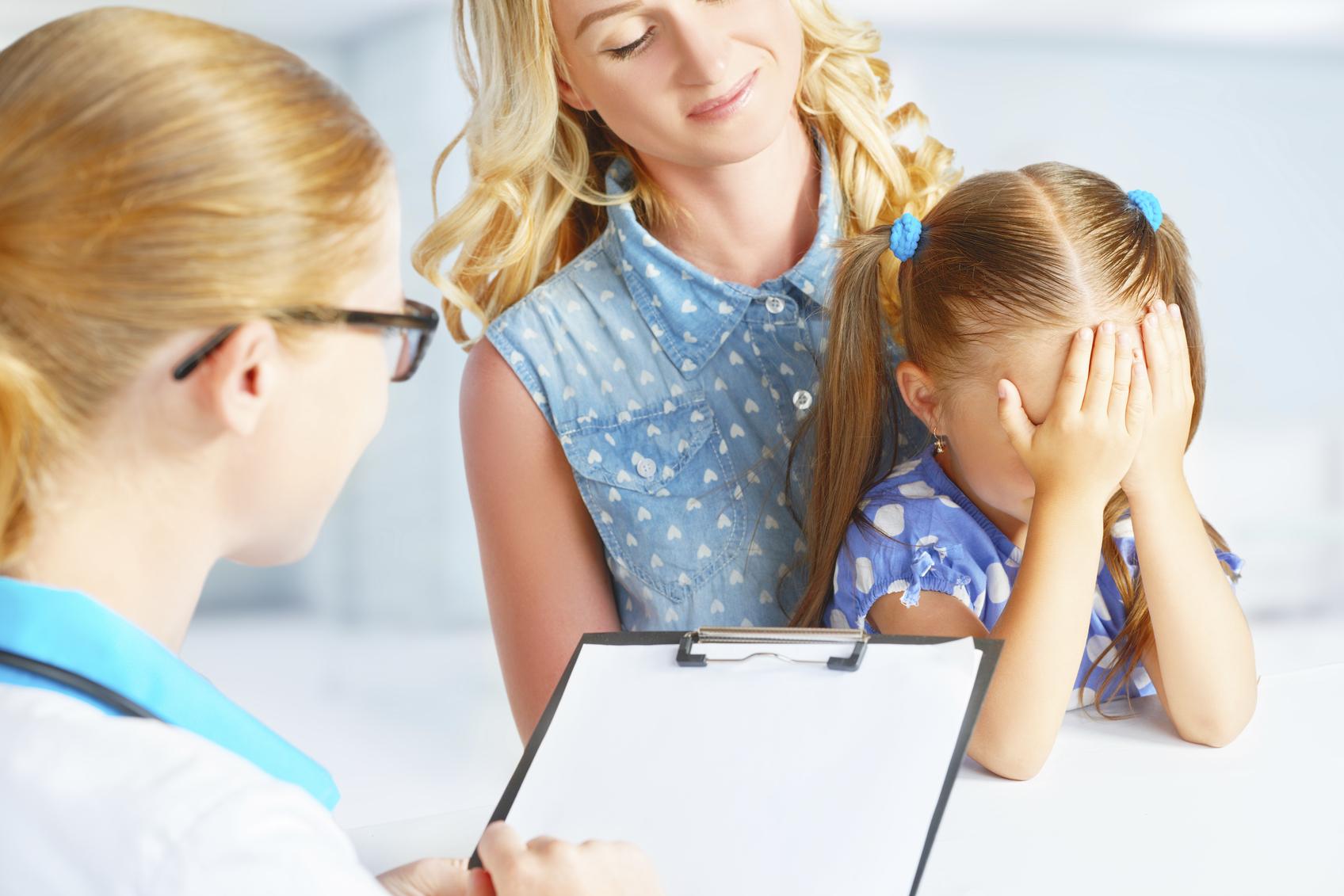 El miedo de los niños al pediatra