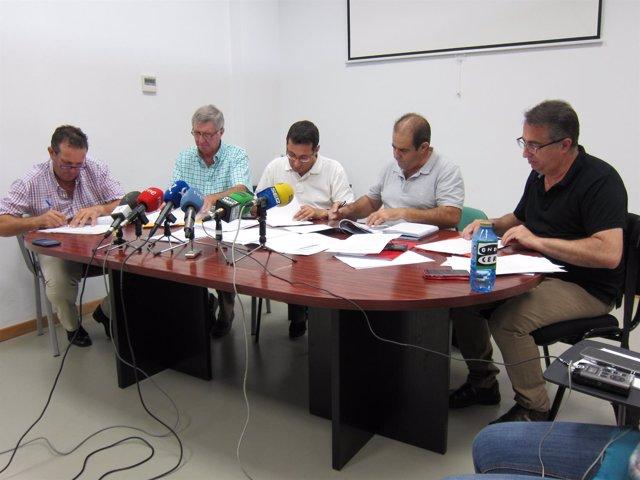 Organizaciones agrarias y sindicatos suscriben el convenio del campo