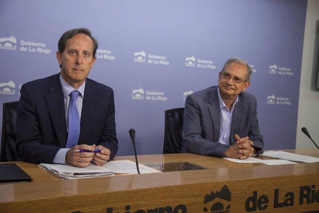 Piserra y Torroba, en la rueda de  prensa