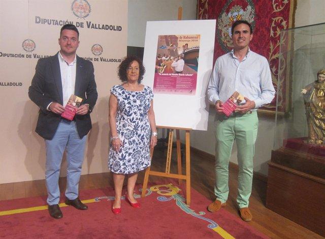 Guzmán Gómez, Teresa Pérez y Alberto Magdaleno presenta la Trovada de Habaneras