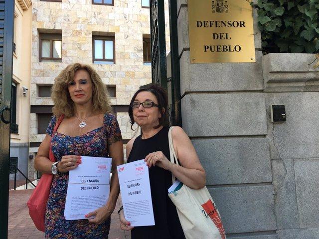 Fotografía CCOO Acto Defensor Del Pueblo