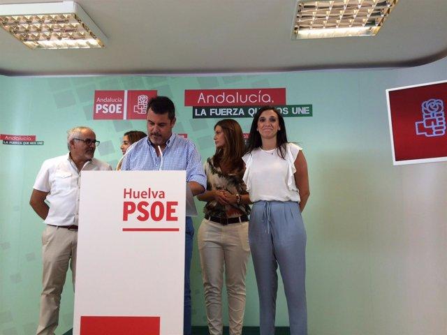 Grupo parlamentario del PSOE de Huelva