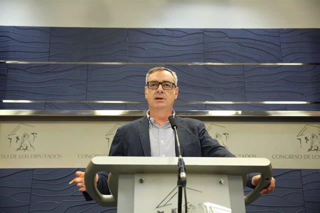 El vicesecretario general de Ciudadanos, José Manuel Villegas, en el Congreso
