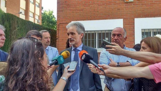 El consejero de Salud, Aquilino Alonso.
