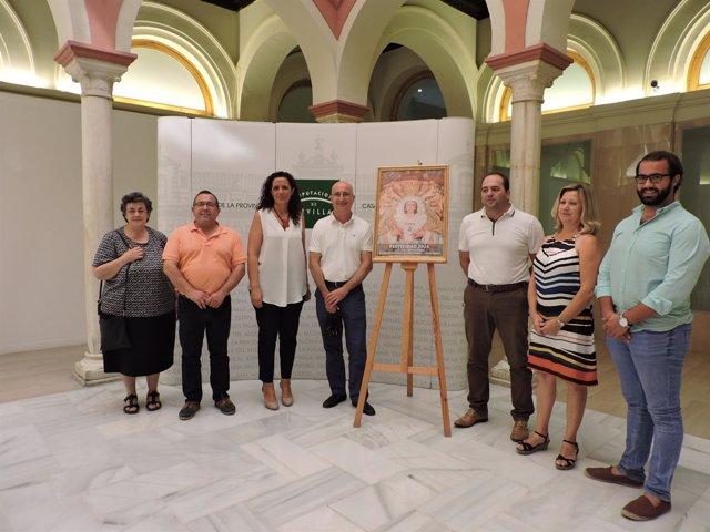 Imagen de la presentación del cartel de las fiestas de Albaida.