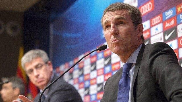 El nuevo secretario técnico del FC Barcelona, Robert Fernández