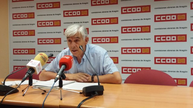 El Secretario De Salud Laboral Y Medio Ambiente De CCOO- Aragón, Benito Carrera