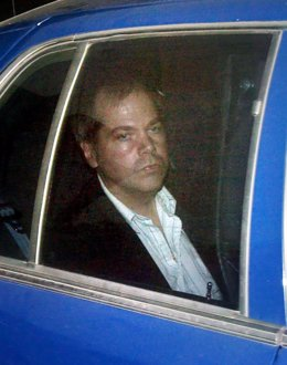 John Hinckley Jr., que intentó asesinar a Reagan, en una vista en 2003