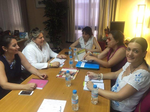 Reunión con asociaciones de personas con discapacidad sobre Violencia de Género
