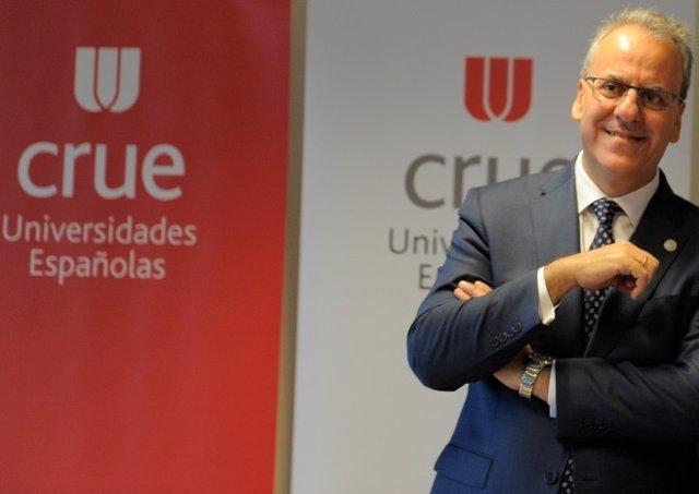 El presidente de CRUE Universidades Españolas