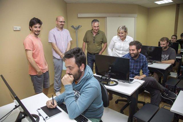 Curso sobre videojuegos en el Centro de Empresas