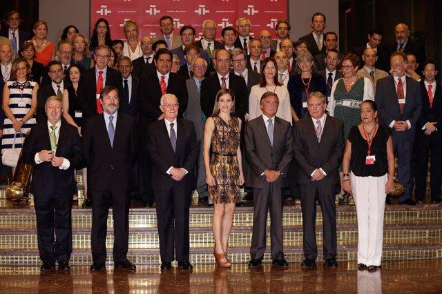 La reina Letizia ha presidido el encuentro anual del Instituto Cervantes
