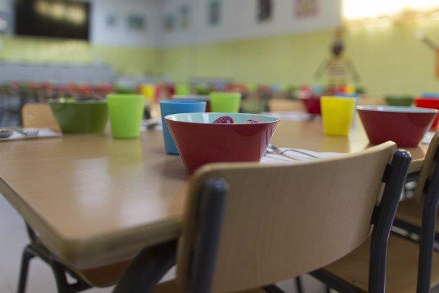 Imagen de recurso de un comedor escolar