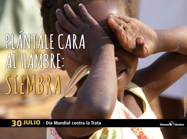 Manos Unidas apoya 16 proyectos contra la trata en el mundo